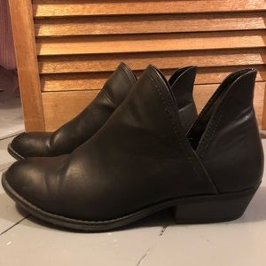 Black Dress Booties